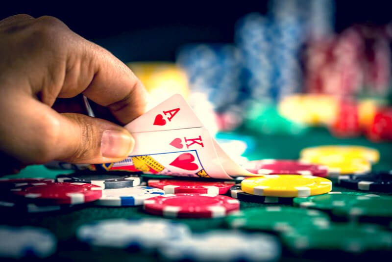 As apostas no blackjack